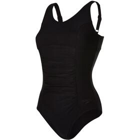 speedo Vivienne Clipback 1 Piece Swimsuit Women Black